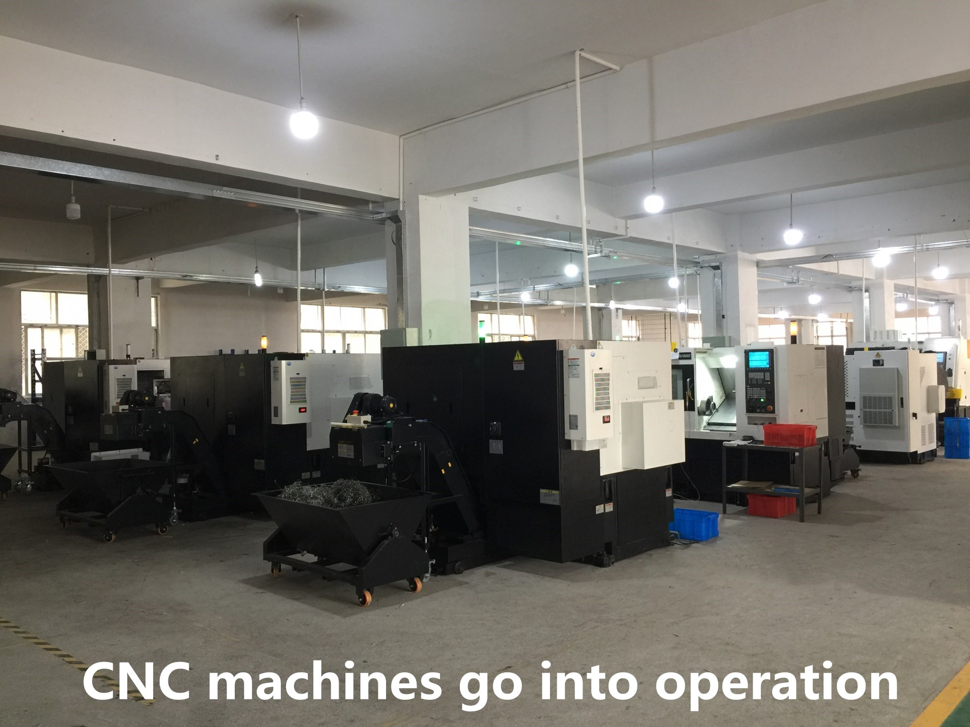 Big News!QILI Imported 40PCS High Precision CNC Machines