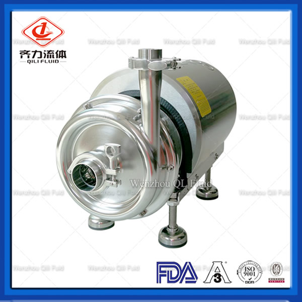 food grade self priming pump
