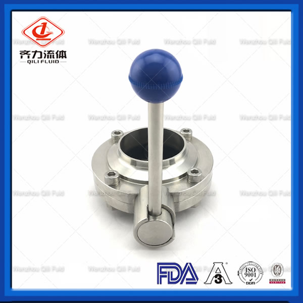 Butterfly Valve for Milk