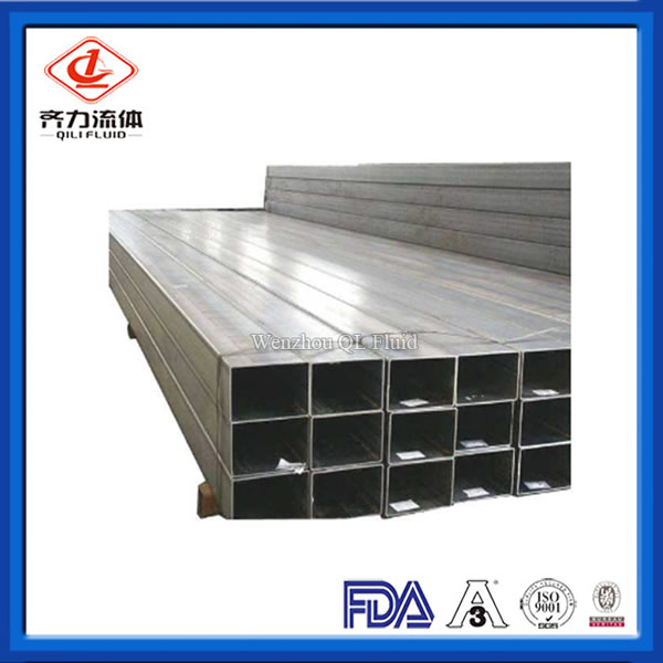 High Quality Seamless Stainless Steel Square Pipe