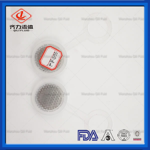 Hygienic Stainless Steel 316L Cap Gaskets Platinum Silicone
