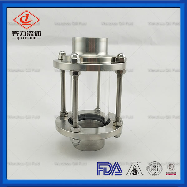 water tank level sight glass
