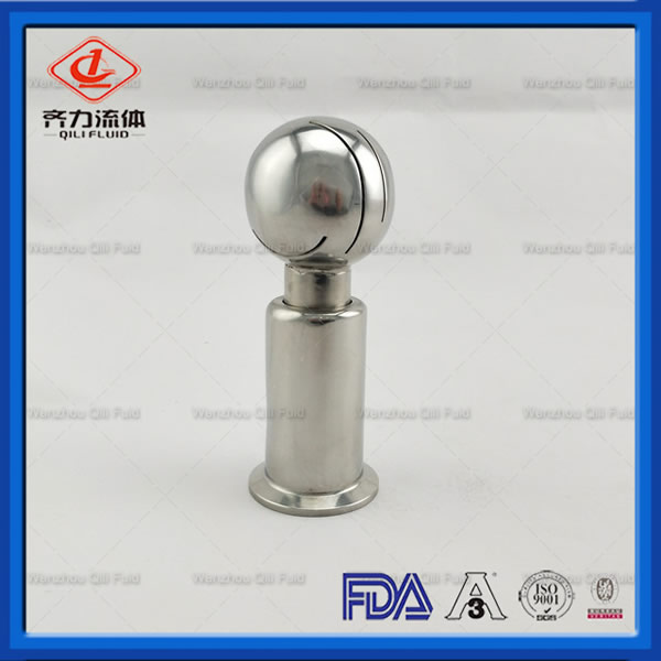 Top Quality Food Grade Sanitary Spray Clamp Cleaning Ball