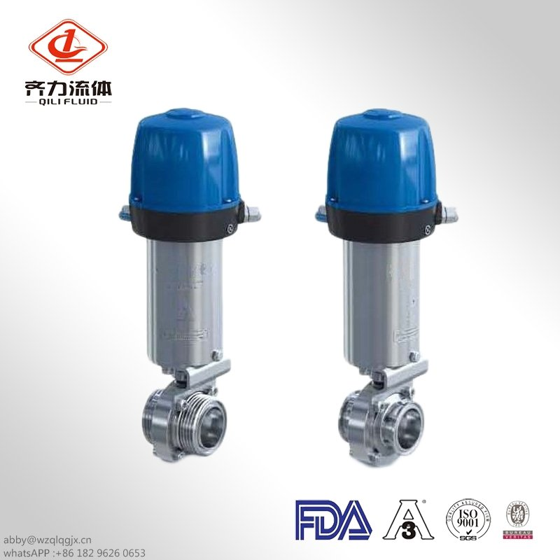 Sanitary Actuator for Clamp End Butterfly Valve
