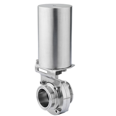 Pneumatically Actuated B5102 Series Butterfly Valve
