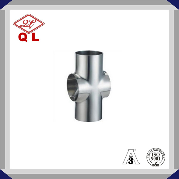 Sanitary Stainless Steel Food Grade Welded Special Cross