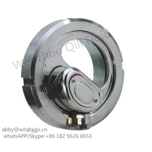 Sanitary Stainless Steel Union Style Sight Glass