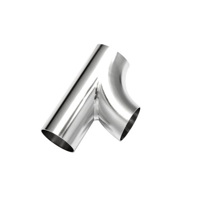 Sanitary Stainless Steel Double Bend Type Tee