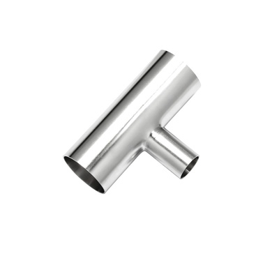 Sanitary Stainless Steel Polished Reducing Weld Tee B7RWWW