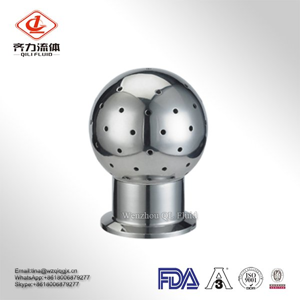 Fixed Sanitary Stainless Steel CIP Cleaning Spray Ball for Tank