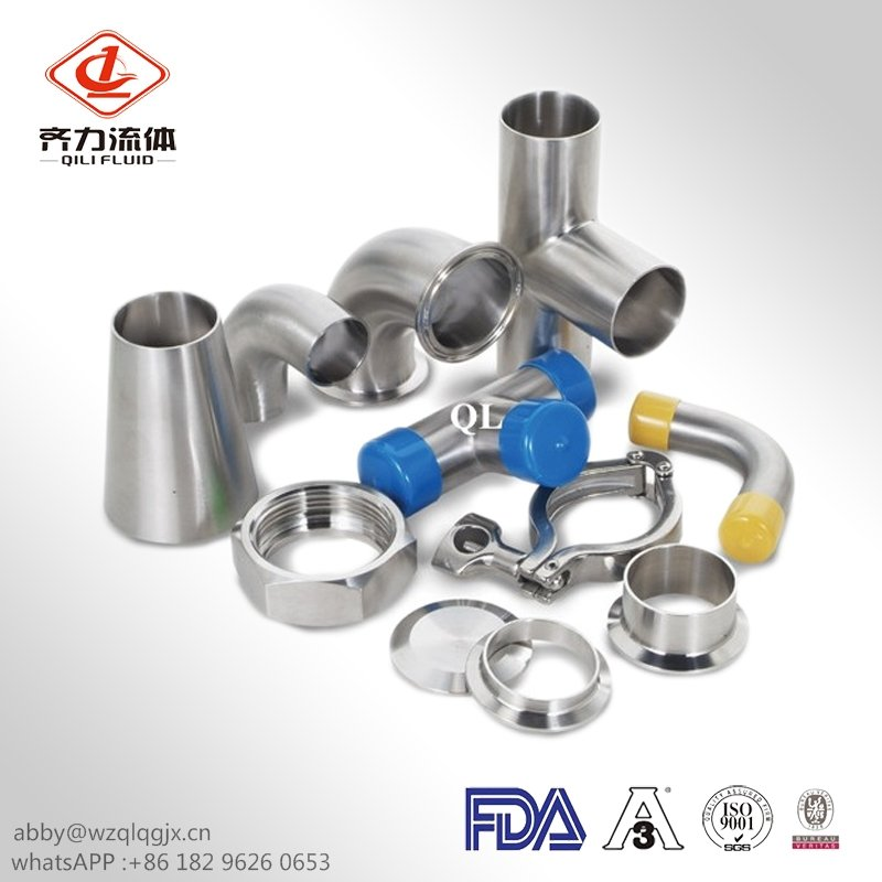 Sanitary Stainless Steel Welding Eccentric Reducer